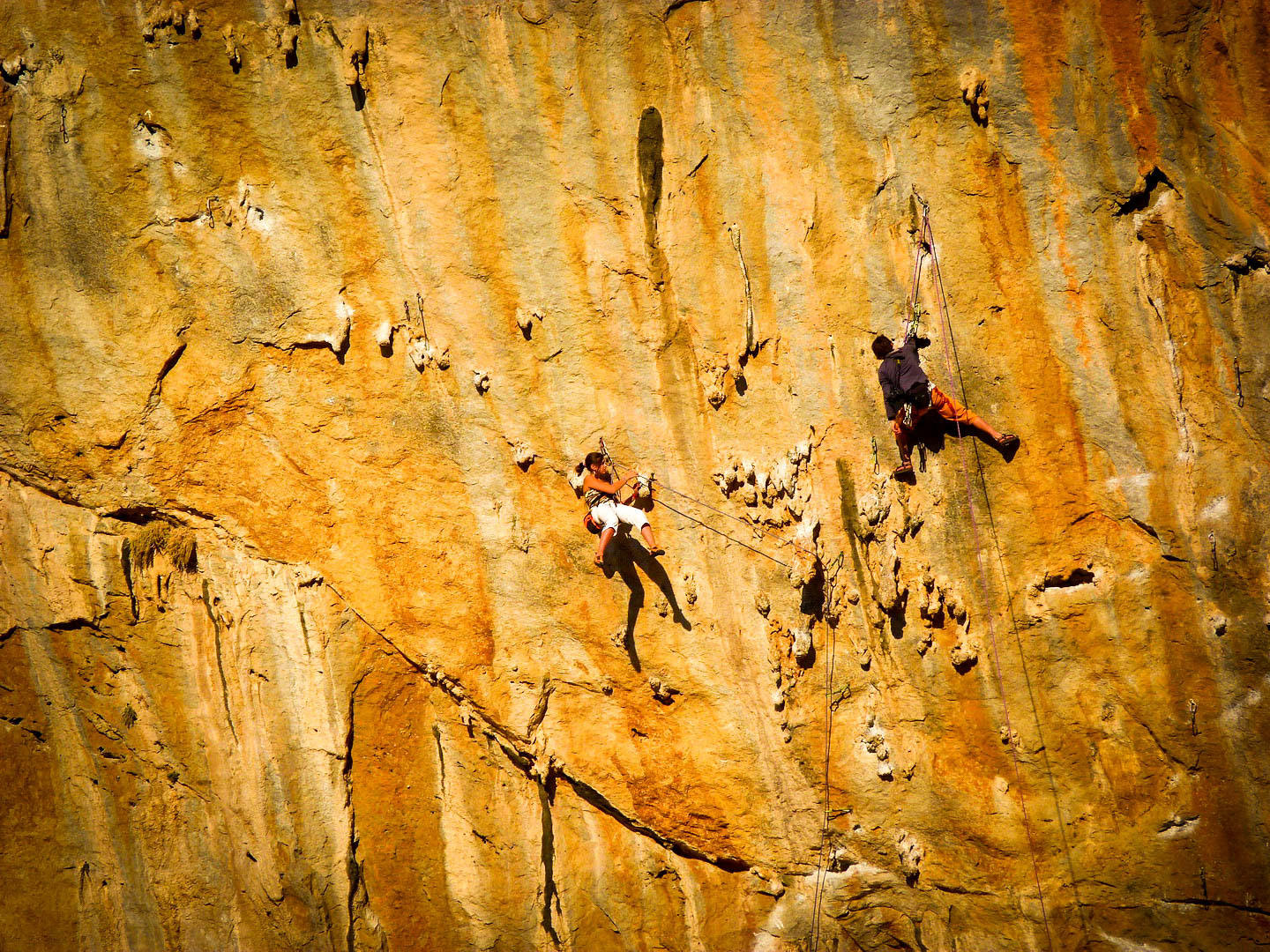 Great climbing routes...